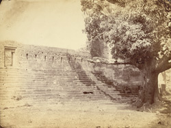 Remains of the 'Fort' at Garhwa, Allahabad District.
